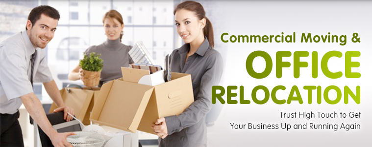 commercial moving banner - home page